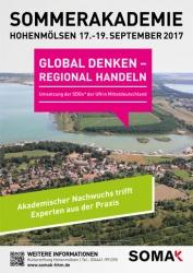 SOMAK 2017: Global denken - regional handeln