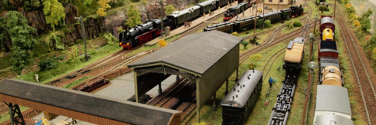 Große Modellbahnausstellung im Saline Museum