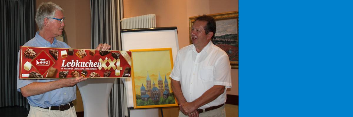 Mit Freunden unterwegs - 10 Jahre VDI-Partnerschaft Aachen-Naumburg