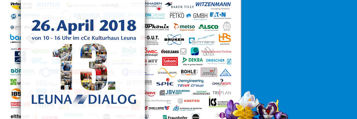 """Fachmesse """"Leuna – Dialog 2018"""": Unternehmen präsentieren ihr Leistungsspektrum"""