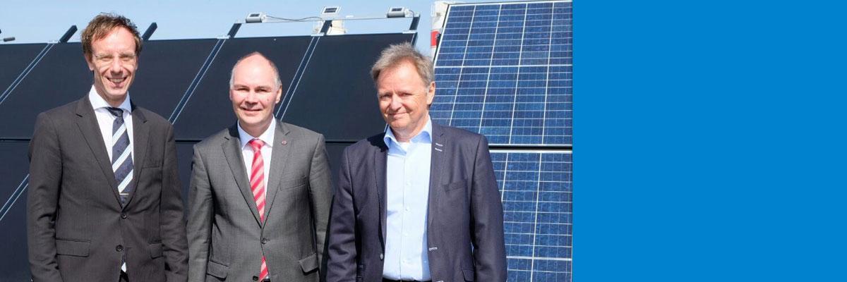 SERIS und Hochschule Anhalt eröffnen Photovoltaik-Testfeld in Deutschland