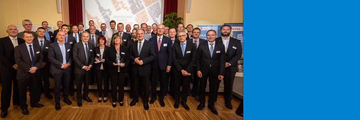 Leuna: Einweihung des 60-Millionen-Euro-Benzolprojekts