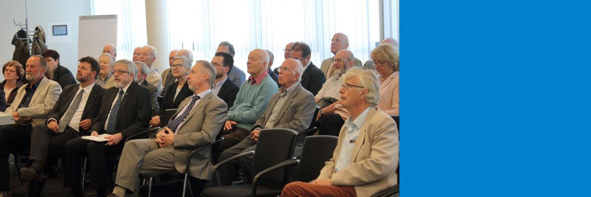 Spannender Gastvortrag des Präsidenten der Leopoldina Prof. Jörg Hacker zur Jahresmitgliederversammlung 2018 des VDI-Hallescher BV