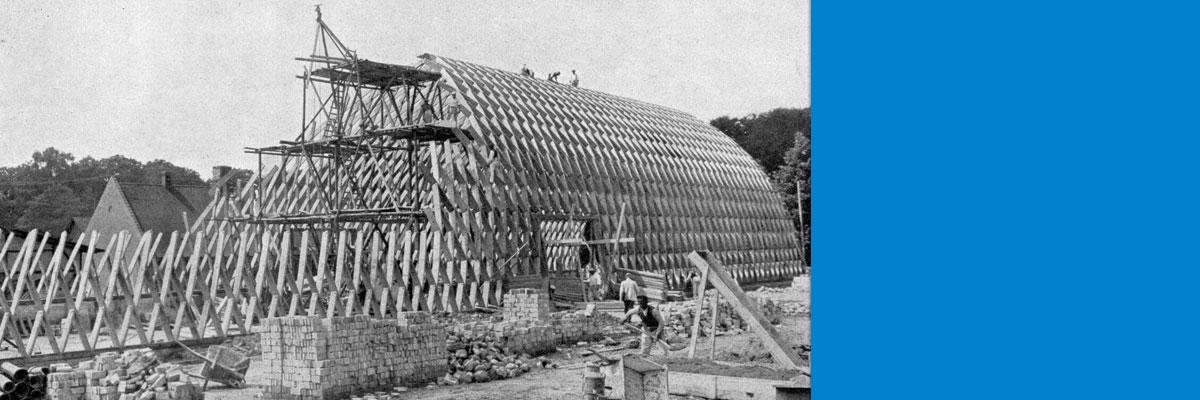 Tagung und Stadtrundgang: Modernes Bauen - Friedrich Zollinger in Merseburg