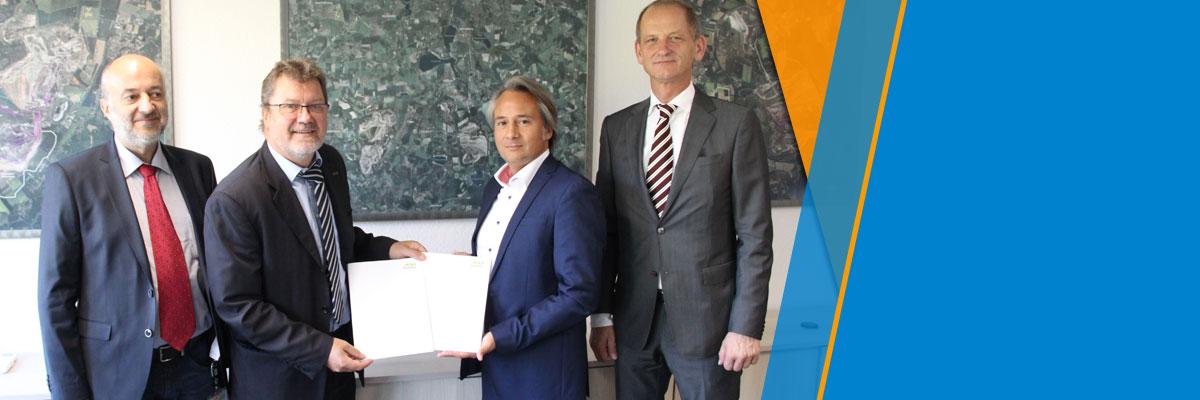 Hochschule Merseburg und Mitteldeutsche Braunkohlegesellschaft (MIBRAG) unterzeichnen Kooperationsvereinbarung