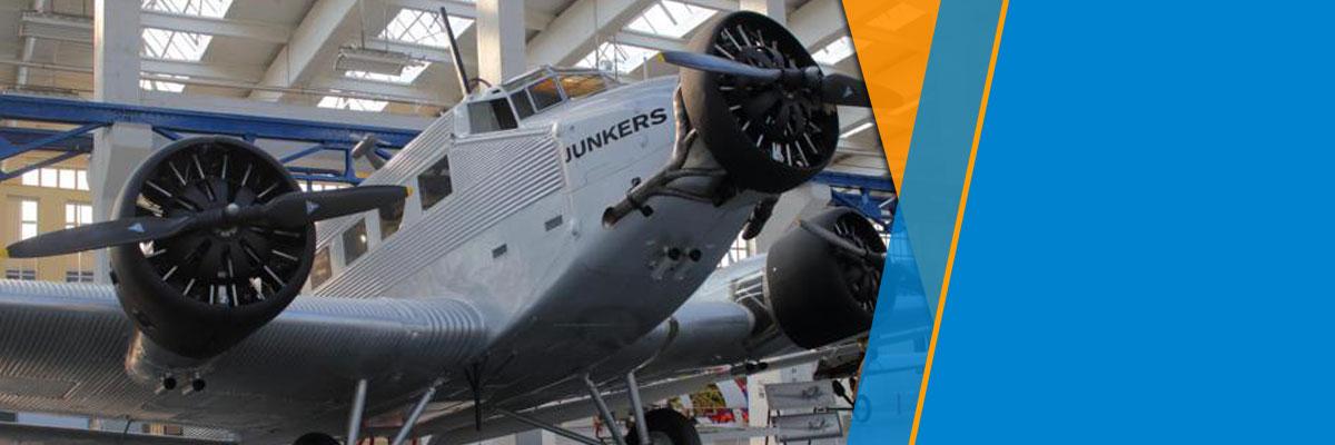 Interessante Führungen beim Sommerfest der mitteldeutschen Ingenieurvereine im Dessauer Junkersmuseum