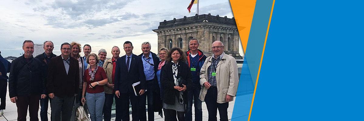 Politik, Klimawandel, Deutsche Bahn und Digitalisierung Exkursion nach Berlin vom 17.10. - 20.10.2019