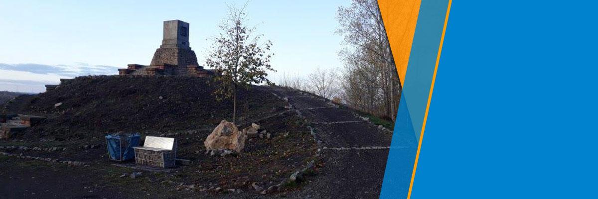 Umfeld des Maschinendenkmals bei Hettstedt kann sich dank Unterstützung des VDI wieder sehen lassen
